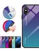 Недорогие Кейсы для iPhone-чехол для apple iphone xr iphone xs max зеркало задняя крышка цвет градиент закаленное стекло для iphone xs 8 плюс 8 7 плюс 7 6 плюс 6