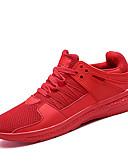 hesapli Mini Elbiseler-Erkek Ayakkabı Örümcek Ağı / PU Yaz Sportif Atletik Ayakkabılar Koşu Atletik için Beyaz / Siyah / Kırmzı