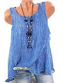 povoljno Majica-Veći konfekcijski brojevi Potkošulja Žene Dnevni Nosite Jednobojni Širok kroj Sive boje