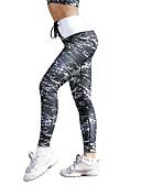 hesapli Kadın Tulumları-Kadın's Tracksuit Yoga kıyafeti Spor Dalları Tozluklar Kısa Paltolar Fitness Kolsuz Aktif Giyim Popo Kaldırma Streç İnce