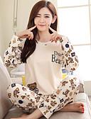 hesapli Pijamalar-kadın kıyafeti gecelikler bej m l xl