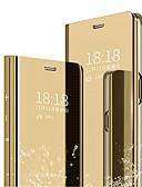 זול מגנים לטלפון-מגן עבור Huawei נווה נווה 4 / P10 Plus / P10 Lite עמיד בזעזועים / ציפוי / שינה / השכמה אוטומטי כיסוי מלא אחיד קשיח PC