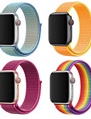 זול להקות Smartwatch-צפו בנד ל סדרת Apple Watch 5/4/3/2/1 Apple לולאה בסגנון מילאנו ניילון רצועת יד לספורט