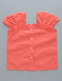 זול שמלות לתינוקות-חולצה שרוולים קצרים אחיד בנות תִינוֹק