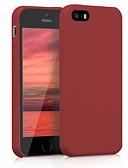 お買い得  iPhone 用ケース-ケース 用途 Apple iPhone SE / 5s / iPhone 5 耐衝撃 バックカバー ソリッド ソフト TPU / シリカゲル