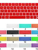 povoljno Oprema za MacBook-Europska verzija francuske tipkovnice film jabuka laptop tipkovnica zaštitni film za MacBook Air Pro Retina 11/12/13/15 inča jednobojni silikon
