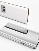 hesapli Cep Telefonu Kılıfları-Pouzdro Uyumluluk Samsung Galaxy S7 edge Ayna Tam Kaplama Kılıf Solid Sert PC