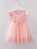 זול שמלות לתינוקות-שמלה שרוולים קצרים פרחוני בנות תִינוֹק