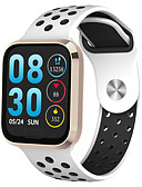 hesapli Akıllı Saatler-Akıllı İzle Dijital Modern Stil Stortif Silikon 30 m Su Resisdansı Kalp Ritmi Monitörü Bluetooth Dijital Günlük Dış Mekan - Siyah Altın Gümüş