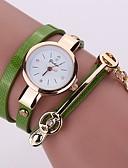 hesapli Saatler-Kadın's Dijital saat Quartz Silikon Gündelik Saatler Analog Minimalist - Yeşil Mavi Açık Mavi