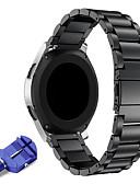 זול להקות Smartwatch-22mm נירוסטה הלהקה לצפות הלהקה החלפת הלהקה מתכת עבור הילוך s3 קלאסי / גבול חכם / סמסונג גלקסיה לצפות 46mm / ticwatch פרו / ticwatch s2 e2