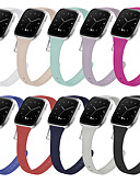 hesapli Smartwatch Bantları-Watch Band için Fitbit Versa / Fitbit Versa Lite Fitbit Spor Bantları Silikon Bilek Askısı