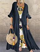 hesapli Kadın Elbiseleri-Kadın's Kaftan Elbise - Çiçekli Maksi