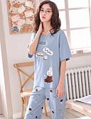 hesapli Pijamalar-kadın elbisesi kıyafeti açık mavi m l xl