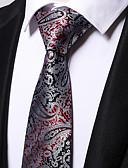 זול שמלות במידות גדולות-עניבת צווארון - פסים / סרוג מסיבה / עבודה בגדי ריקוד גברים