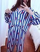 hesapli Pijamalar-kadın elbisesi gecelik kızarma pembe mavi kraliyet mavi s m l