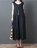 povoljno Ženski jednodijelni kostimi-Žene Kinezerije Crn žuta Jumpsuits, Jednobojni M L XL