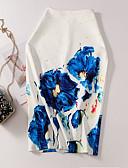 povoljno Majica-Žene Bodycon Suknje - Cvjetni print Print Obala L XL XXL