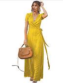 povoljno Maxi haljine-Žene Korice Haljina Na točkice Maxi
