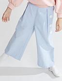 זול מכנסיים וטייץ לבנות-מכנסיים אחיד בנות ילדים