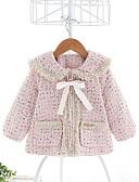 povoljno Džemperi i kardigani za djevojčice-Dijete koje je tek prohodalo Djevojčice Aktivan Jednobojni Normalne dužine Jakna i kaput Blushing Pink