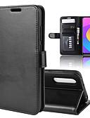 זול מגנים לטלפון-מגן עבור Xiaomi Xiaomi Redmi Note 7 / Xiaomi Redmi Note 7 Pro / Xiaomi Redmi 7 ארנק / מחזיק כרטיסים / נפתח-נסגר כיסוי מלא אחיד עור PU
