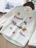 povoljno Džemperi i kardigani za djevojčice-Dijete koje je tek prohodalo Djevojčice Osnovni Geometrijski oblici Dugih rukava Džemper i kardigan Obala