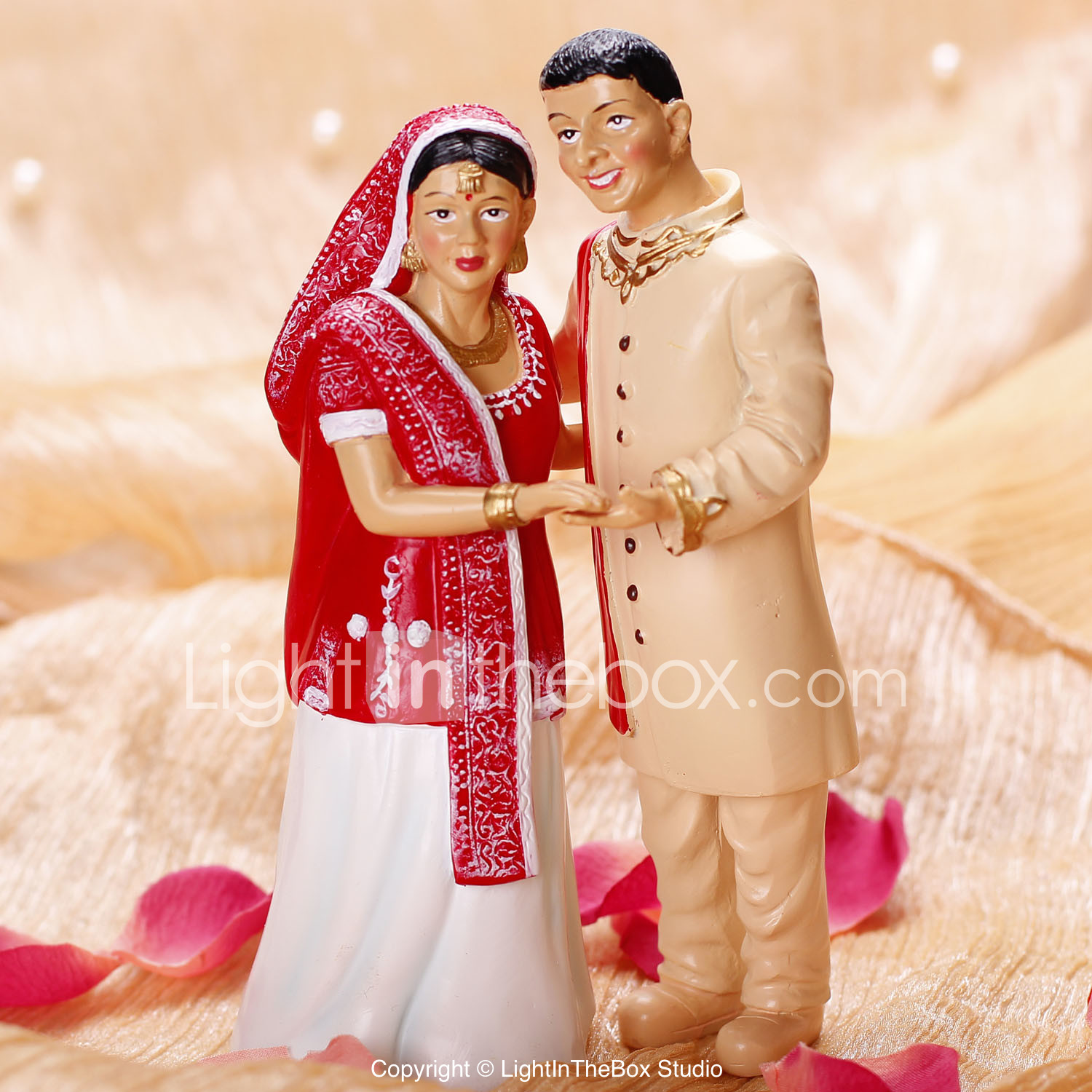 Cake Toppers India Style Bride & Groom Cake Topper 474497 2018 – $10.99