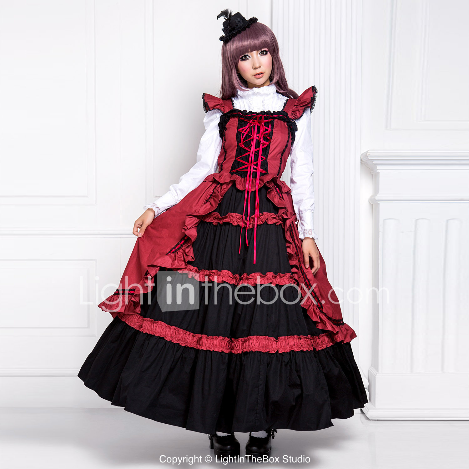 Sweet Lolita Dress Punk Lolita Dress Princess Womens e Piece