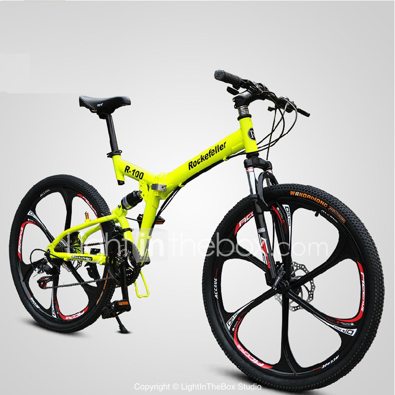 Bicicleta de Montaña / Bicicletas plegables Ciclismo 21 Velocidad 26 ...
