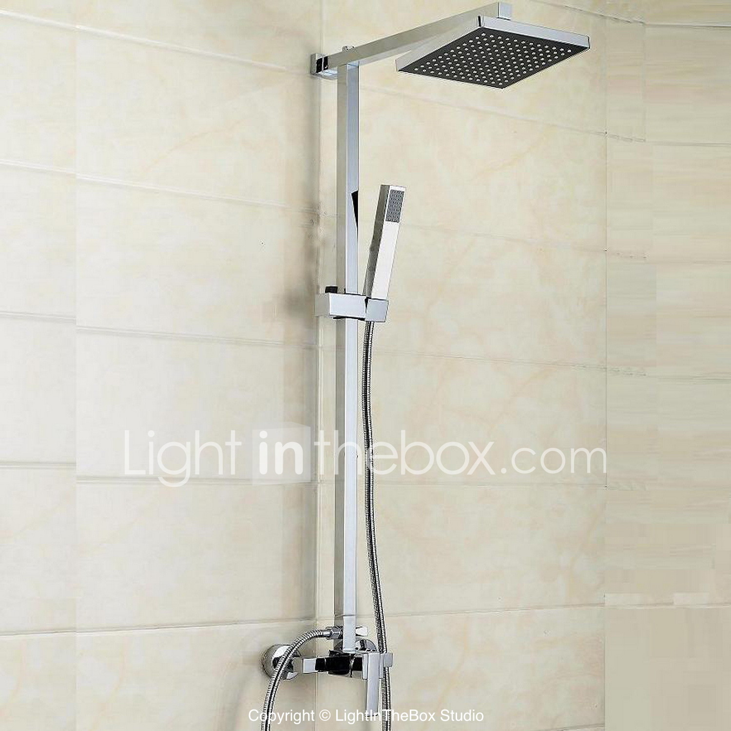 Waterfalls Shower Head With Handheld - Lightinthebox.com