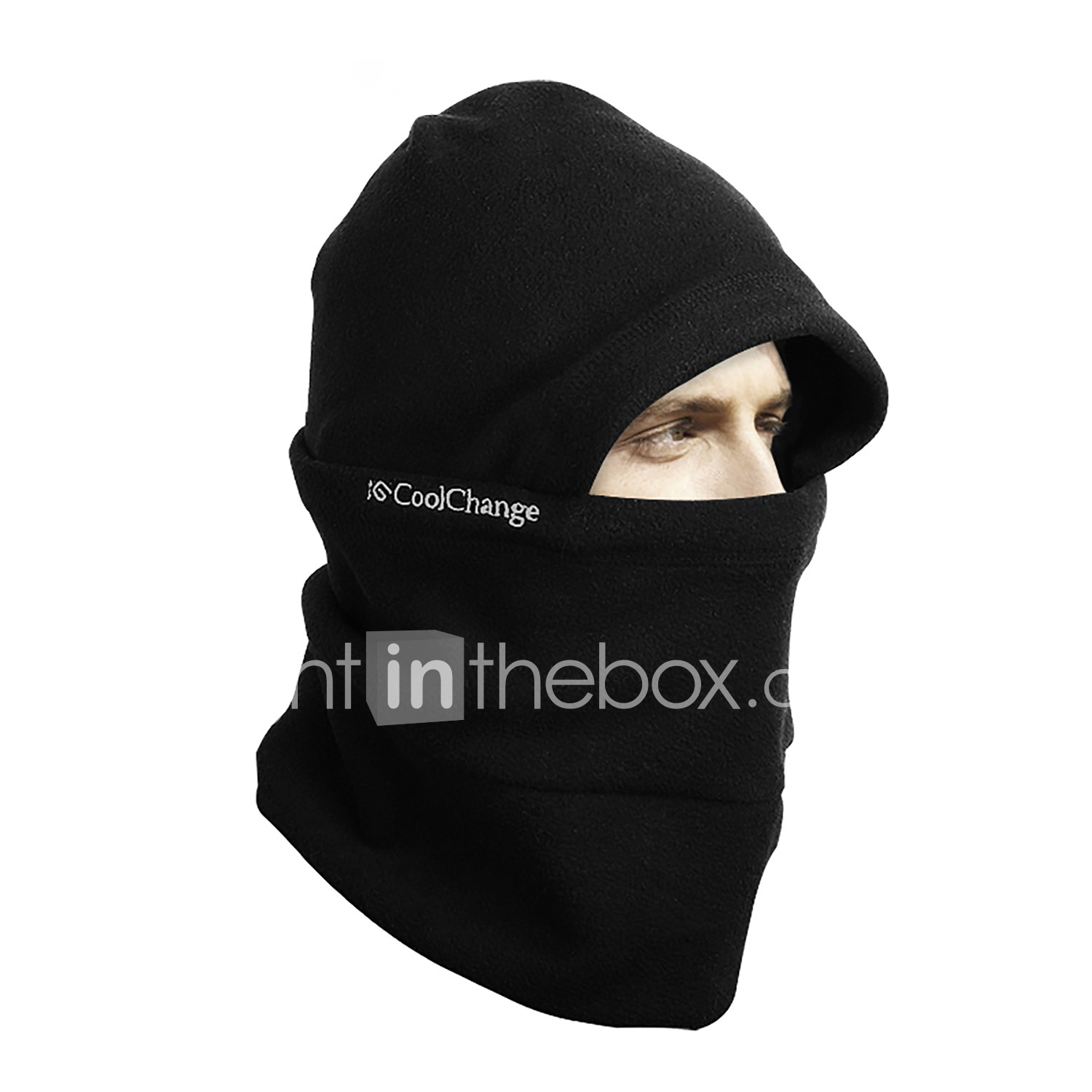 426cfa7df CoolChange Balaclava Solid Color Thermal / Warm Breathable Camping & Hiking  Warm Dust Proof Bike / Cycling Black Wool Fleece Winter for Men's Women's  ...