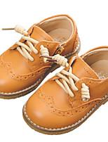 levne Dívčí obuv-Dívčí Boty Kůže Zima Pohodlné Oxfordské pro Děti Černá    Velbloudí fcb9e0d110