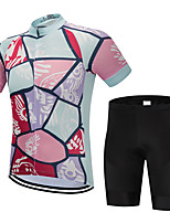 cheap Cycling Clothing-FirtySnow Men  039 s Short Sleeve Cycling Jersey  with Shorts New 2d18104e8