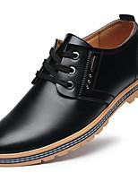 22e1c55d1d5a olcso Férfi cipők-Férfi Kényelmes cipők Mikroszálas Tavasz Félcipők Fekete  / Barna