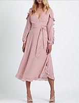 levne Dámské šaty-Dámské Elegantní Pouzdro Šaty - Proužky d3ffff7644