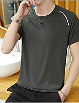 c7b2497fc2d1dd preiswerte Herren T-Shirts  amp  Tank Tops-Herrn Solide T-shirt