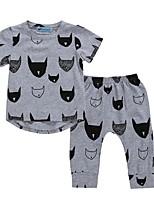 925f7ba3d059 Χαμηλού Κόστους Μωρουδιακά Ρούχα Για Αγόρια-Μωρό Αγορίστικα Ενεργό / Βασικό  Γεωμετρικό / Στάμπα Στάμπα
