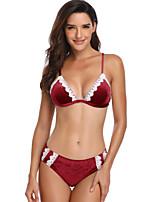 7ec2ac332a olcso Bikinik és fürdőruhák-Női Alap Medence Lóhere Rubin Trokuti Merész  Bikini Fürdőruha - Egyszínű