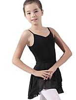f1b68754 billige Danseklær til barn-Danseklær til barn / Ballet Trikoter Jente  Trening Bomull Ruched Trikot