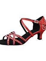 e34122b5 abordables Zapatos de Baile Latino-Mujer Sintéticos Zapatos de Baile Latino  Pedrería / Lentejuela /