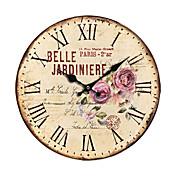 カントリー花壁掛け時計