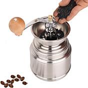 ステンレス鋼ミュラーマニュアルグラインダーコーヒーミル、W16.5cm X L9.5cm X H9cm