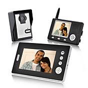 Konx® inalámbrico videoportero de teléfono doble receptores impermeable visión nocturna inalámbrica desbloquear