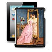 iPadの2/3/4のための特殊なパターンの3Dエフェクトハードケース裏表紙