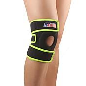 ニーガード・サポーター 膝用サポーター スポーツサポート 容易に痛み 保護 調整可能 暖かい/熱 野球 キャンピング&ハイキング ランニング 黒フェード