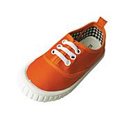 Chica Zapatos Tela Primavera / Otoño Confort Zapatillas de deporte Tacón Plano Amarillo / Verde / Naranja