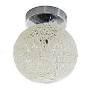 コンテンポラリー ランタン ボール形 埋込式 用途 リビングルーム ベッドルーム ダイニングルーム 研究室/オフィス 廊下 電球付き