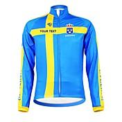 Kooplus Maillot de Ciclismo Hombre Mujer Unisex Manga Larga Bicicleta Camiseta/Maillot Top Ropa para Ciclismo Cremallera impermeable