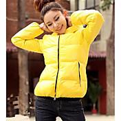 LHL última europeo abrigo de invierno de la moda (de color ramdon cremallera)